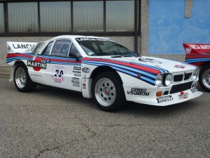 Lancia 037 Rally tribute car