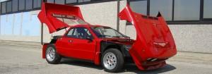 Lancia 037 Rally tribute car