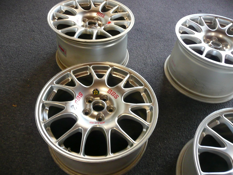 Bbs Ferrari 360 Challenge Wheels 18 Inch