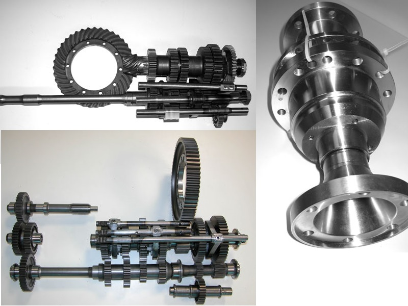 gearbox and differential parts for lancia stratos  delta