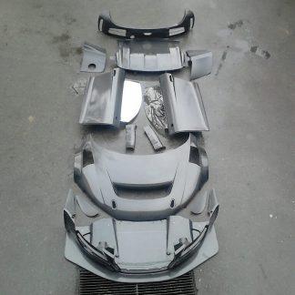 Carbon body parts AUDI R8 LMS Ultra - SaxonParts