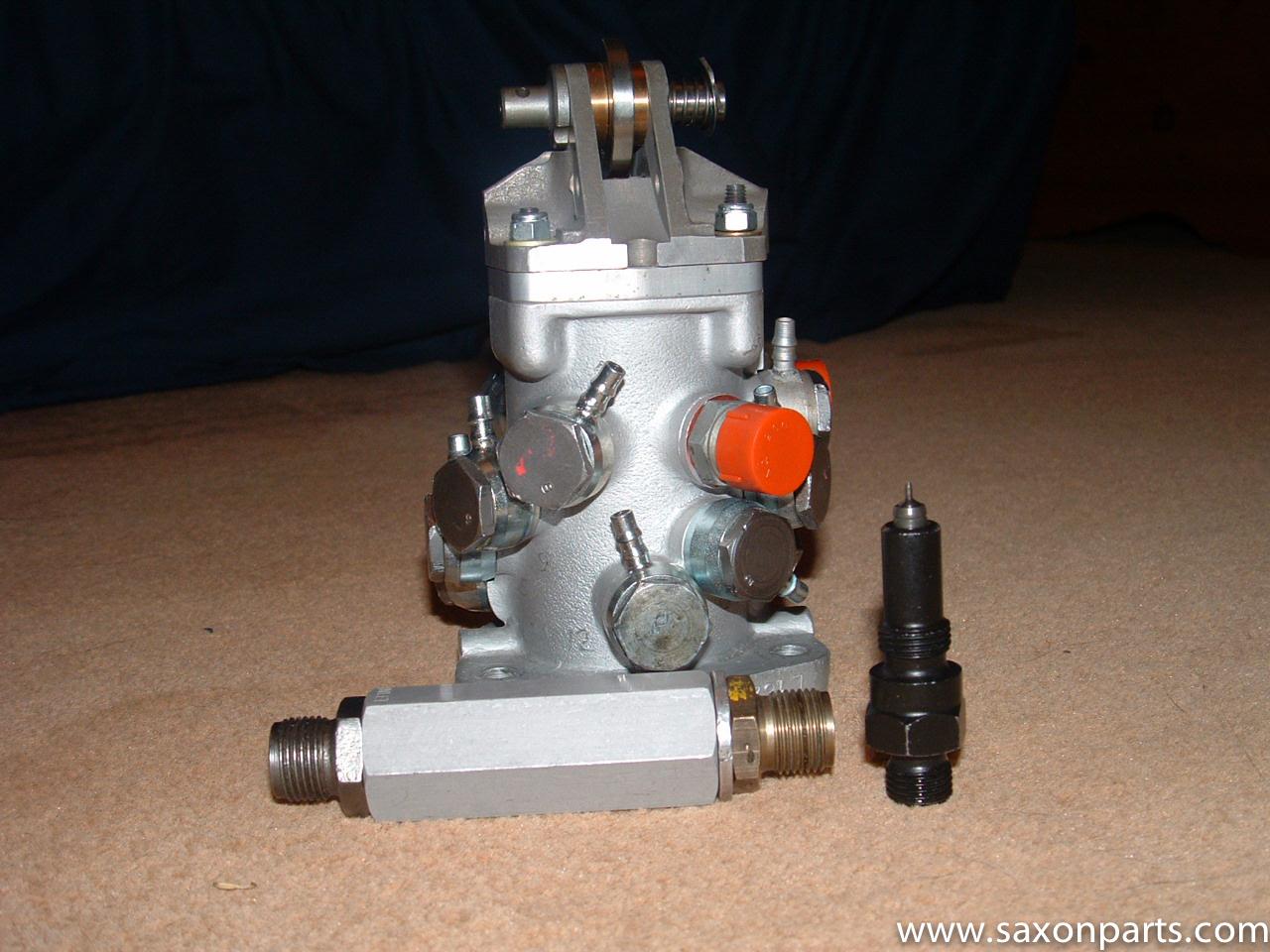 Lucas metering unit fuel injection